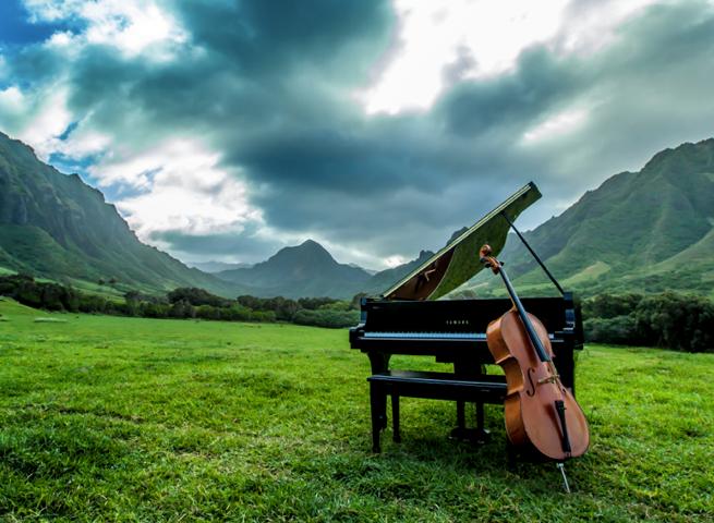 cello piano